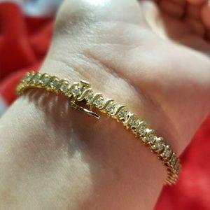 Jewelry - 14K Gold Tennis Bracelet